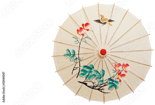 Oriental umbrella isolated - 10444047