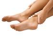 massage des chevilles