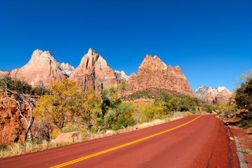 Court of the Patriarchs in Zion National Park