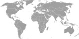 Mapa świata (sztuka wektorowa)
