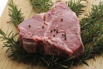 Bistecca fiorentina cruda - Secondi di carne Toscana