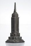 Empire State Building Statue poster