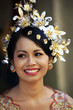 The Indonesian happy bride. Bali. Indonesia
