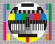 Quadro televisore colori
