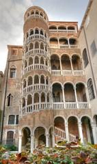 Escalier Contarini du Bovolo à Venise