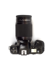35-mm photocamera with 60-300 telephoto lens
