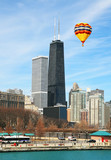 The John Hancock Center in the City of Chicago USA poster