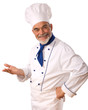 Portrait of happy attractive cook - 10491472