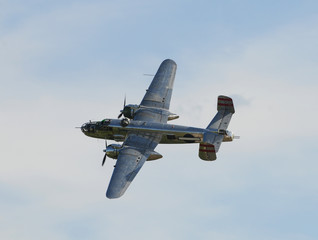 World War II era American bomber plane