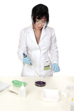 Conducting medical, forensic  or scientific research or tests poster