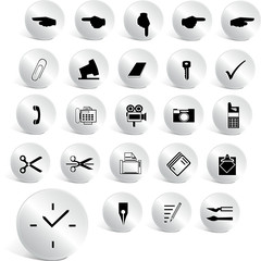 chrome web icons set