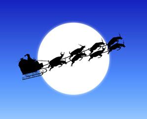 Moonlight Santa