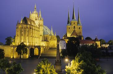 Dom von Erfurt, Thüringen, Deutschland