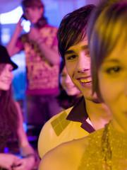 Junge Menschen feiern eine Party