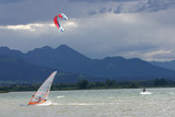 kiteboard Chiemsee Bavaria