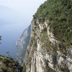 Italien, Lago di Garda, Bergkamm