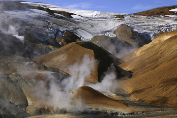 Island - Tal der heißen Quellen von Kerlingarfjöll