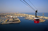 Cable Car, Barcelona, Spain