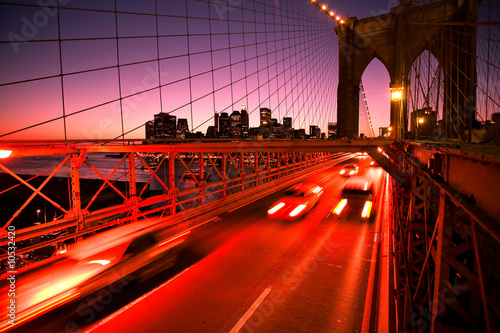 brooklyn bridge and manhatten