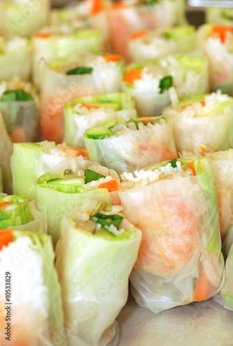 Goi cuon Chay Vietnamese vegetable rolls by Pangfolio.com, Royalty ...