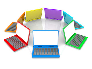 Colorful Laptops