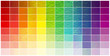 """palette chromatique """"verre granité"""""""