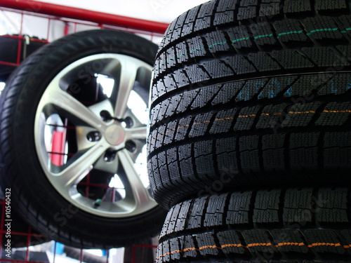 Winter tire display