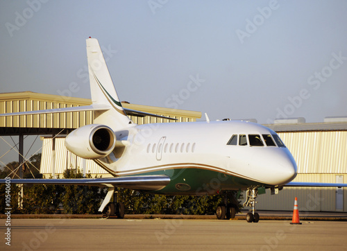 Luxury travel by way of private jet airplane