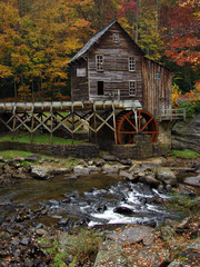 The Glade Creek Grist Mill
