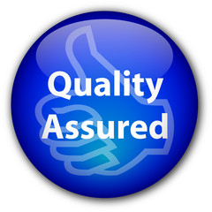 """""""Quality Assured"""" button"""