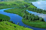Fototapety Landscape on the River Volga, Russia