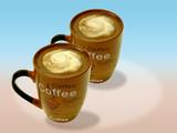 Kaffeetasse braun 3 poster