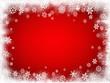 Sfondo neve rosso