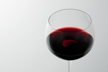 glass of cabernet