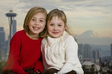 Happy Girls in Seattle