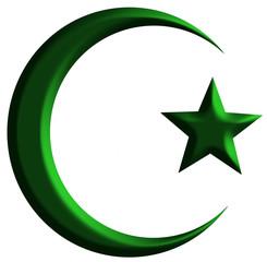 crescente muçulmano