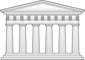 Greek Doric-style Temple