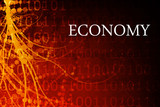 Economy Abstract poster