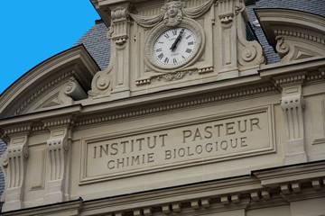 Façade de l'institut Pasteur - Paris