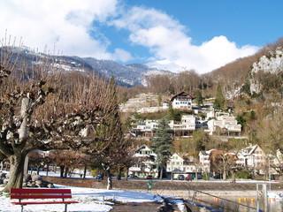 bourg alpin