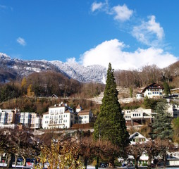 village de vacances...alpes