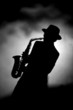 Quadro jazz sax