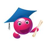 School  Violet Mascot poster