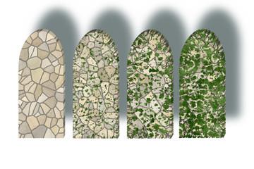 Aging stones