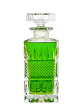 Decanter with green fluid poster