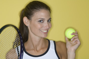 Female tennis player.