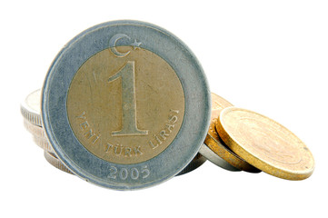 Turkish Lira - 1YTL Coin