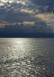 Adriatic sea scene, Kvarner, Croatia poster
