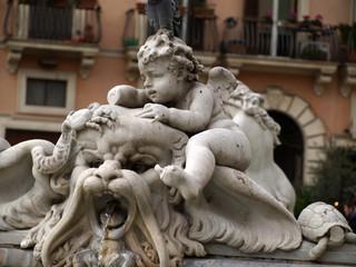 statue di roma particolari