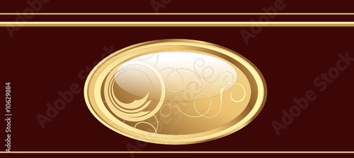 Fancy glossy web button for your projects - vector